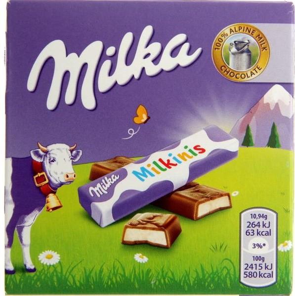 Шоколад Milka Milkinis stick 43,75 г